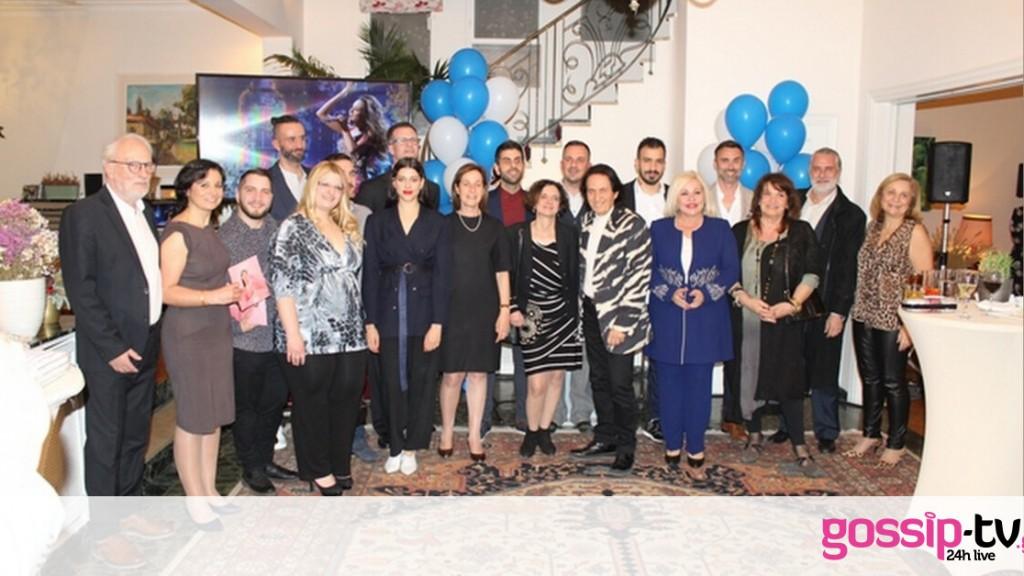 Eurovision 2019: Εκδήλωση για την ελληνική αποστολή στην οικία της Πρέσβεως του Ισραήλ (photos)
