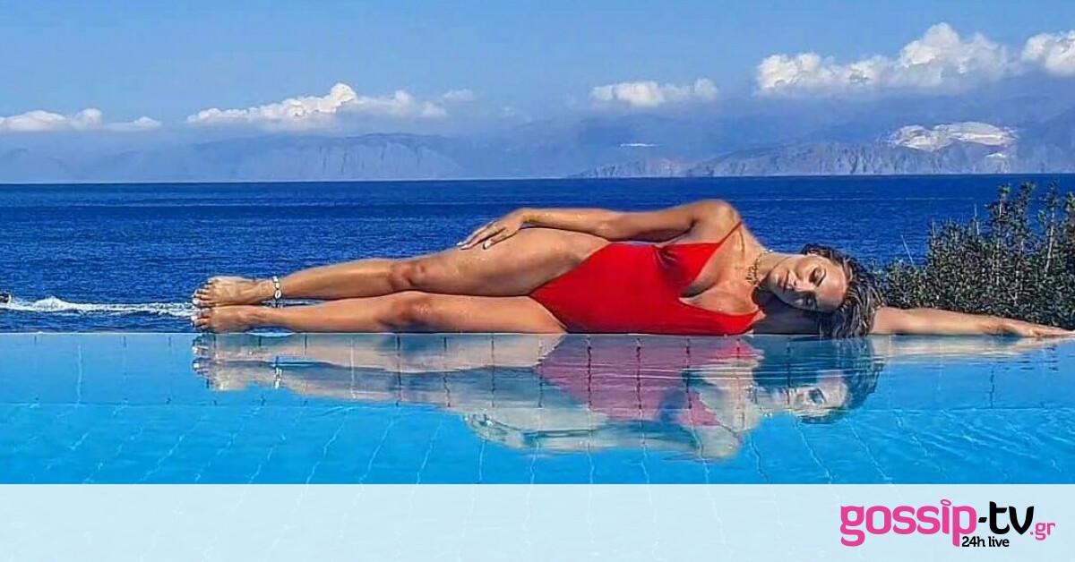 Η ομορφότερη παρουσιάστρια της Ελλάδος βρίσκεται στην Κρήτη (photos)